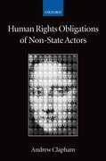Cover for Human Rights Obligations of Non-State Actors