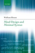 Cover for Mind Design and Minimal Syntax