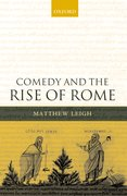 Cover for Comedy and the Rise of Rome