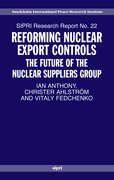 Cover for Reforming Nuclear Export Controls