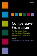 Cover for Comparative Federalism