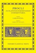 Cover for Procli In Platonis Parmenidem Commentaria