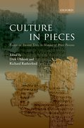 Cover for Culture In Pieces