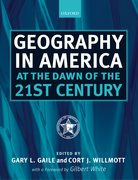 Cover for Geography in America at the Dawn of the 21st Century
