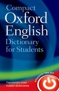 Cover for Compact Oxford English Dictionary for University and College Students - 9780199296255