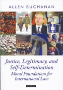 Cover for Justice, Legitimacy, and Self-Determination
