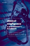 Cover for Clinical Negligence: A Practitioner