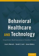 Cover for Behavioral Health Care and Technology