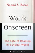 Cover for Words Onscreen