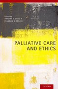 Cover for Palliative Care and Ethics