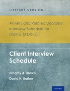 Cover for Anxiety and Related Disorders Interview Schedule for DSM-5 (ADIS-5) - Lifetime Version