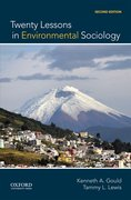Cover for Twenty Lessons in Environmental Sociology