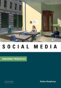 Cover for Social Media: Enduring Principles