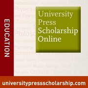 Cover for University Press Scholarship Online - Education