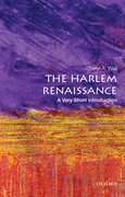 Cover for The Harlem Renaissance: A Very Short Introduction