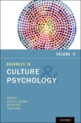 Cover for Advances in Culture and Psychology, Volume 4