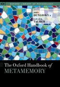 Cover for The Oxford Handbook of Metamemory