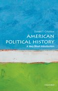 Cover for American Political History: A Very Short Introduction