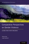 Cover for Comparative Perspectives on Gender Violence