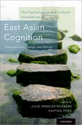 Cover for The Psychological and Cultural Foundations of East Asian Cognition