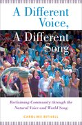 Cover for A Different Voice, A Different Song