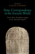 Cover for State Correspondence in the Ancient World