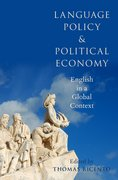 Cover for Language Policy and Political Economy
