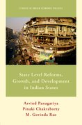 Cover for State Level Reforms, Growth, and Development in Indian States