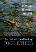 Cover for [Oxford] Handbook of Food Ethics