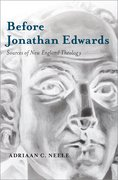 Cover for Before Jonathan Edwards