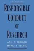 Cover for Responsible Conduct of Research