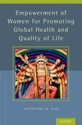 Cover for Empowerment of Women for Promoting Health and Quality of Life - 9780199384662