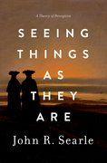 Cover for Seeing Things as They Are