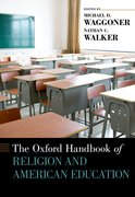 Cover for The Oxford Handbook of Religion and American Education