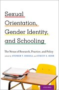 Cover for Sexual Orientation, Gender Identity, and Schooling