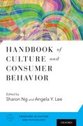 Cover for Handbook of Culture and Consumer Behavior