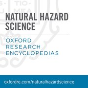 Cover for Oxford Research Encyclopedias: Natural Hazard Science