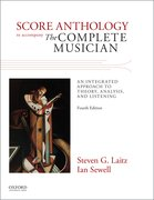 Cover for Score Anthology to Accompany The Complete Musician