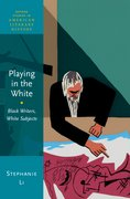 Cover for Playing in the White
