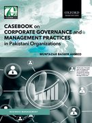 Cover for Casebook on Corporate Governance and Management Practices in Pakistani Organizations