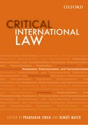 Cover for Critical International Law