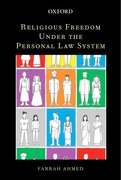 Cover for Religious Freedom under the Personal Law System