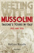 Cover for Meeting With Mussolini