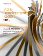 Cover for India Development Report 2015