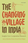 Cover for The Changing Village in India