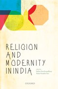 Cover for Religion and Modernity in India