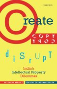 Cover for Create, Copy, Disrupt - 9780199470662