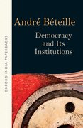 Cover for Democracy and Its Institutions