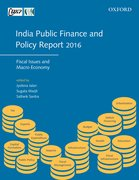 Cover for India Public Finance and Policy Report 2016