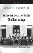 Cover for Supreme Court of India - 9780199472161
